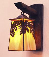 Grape Leaf Lantern
