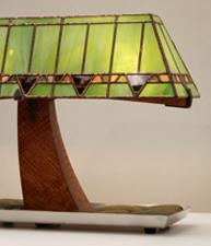 Vine Lamp- Riverstone