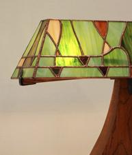 Vine Lamp- Slate