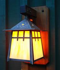Pagoda Wall Lantern