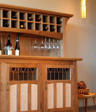 Craftsman Range Wine Sideboard
