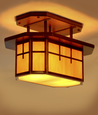 Octagon Ceiling Lamp