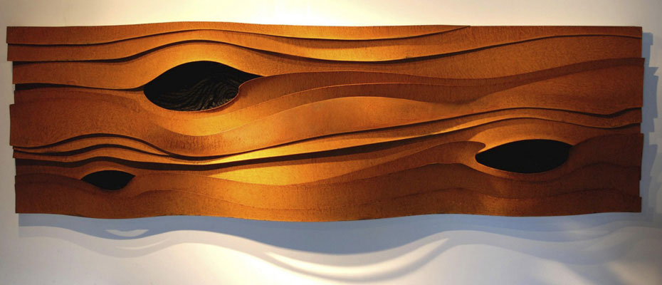 """Knots"" wall sculpture"